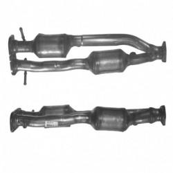 Catalyseur pour BMW 330d 2.9 TD E46 Turbo Diesel (M57 - catalyseur situé sous le véhicule)