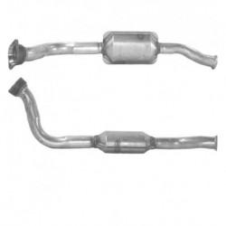 Catalyseur pour TOYOTA AVENSIS VERSO 2.0 TD Turbo Diesel (D4-D - catalyseur situé coté moteur)