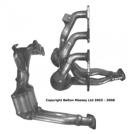 Catalyseur pour BMW 525d 2.5 TD E39 Turbo Diesel (1er catalyseur)