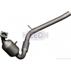 Catalyseur pour PEUGEOT 206 2.0 HDi HDi Turbo Diesel (DW10TD) hayon