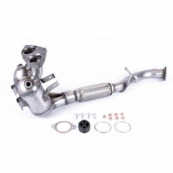 Catalyseur pour BMW 330d 3.0 TD E46 XD 4X4 Turbo Diesel (M57N - 1er catalyseur)