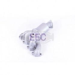 Catalyseur pour FORD MONDEO 1.6 Catalyseur situé coté moteur