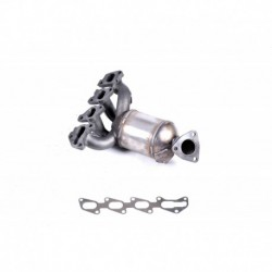 Catalyseur pour FORD MONDEO 1.6 16v (double cat Collecteur)