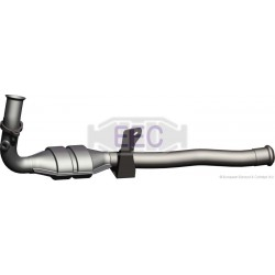 Catalyseur pour FORD FOCUS C-MAX 2.0 16v Collecteur