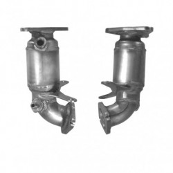 Catalyseur pour CITROEN C5 2.0 HDi Mk.2 HDi (DW10BTED4 - 1er catalyseur - pour véhicules sans FAP)