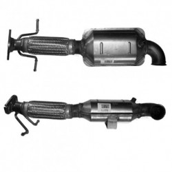 Filtres à particules pour CITROEN C8 2.0 HDi HDi DW10BTED4 - 136cv