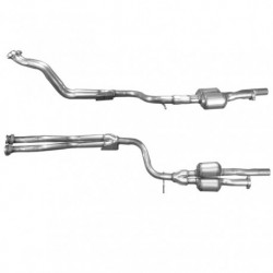 Catalyseur pour ALFA ROMEO 155 2.0 16v tuyau double (A partir du n° de chassis 0175072)