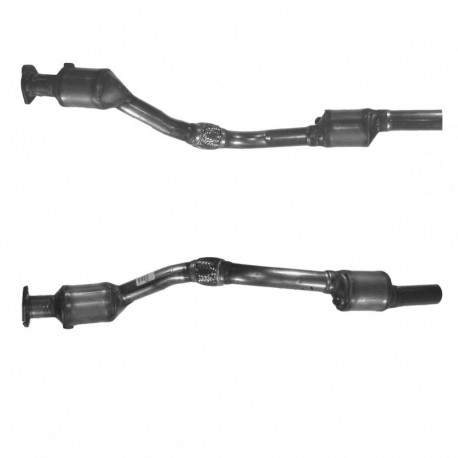 Catalyseur pour FIAT MAREA 1.9 TD JTD Turbo Diesel