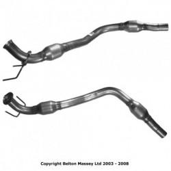 Catalyseur pour BMW 120i 2.0 E87 (N46 Collecteur)