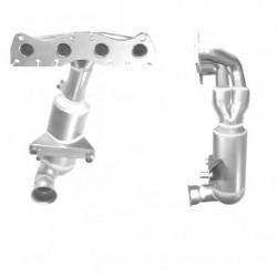 Catalyseur pour BMW 328i 2.8 E46 (M52 - Collecteur cylindres 4-6)