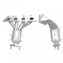 Catalyseur pour BMW 520i 2.0 E39 (M52 - Collecteur cylindres 4-6)