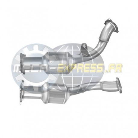 Catalyseur pour FIAT SCUDO 2.0 TD JTD (RHR - 136cv) Catalyseur coté FAP