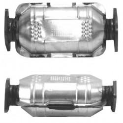 Catalyseur pour CITROEN SAXO 1.6 16v VTS avec OBD (catalyseur situé sous le véhicule)