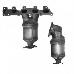 Catalyseur pour FIAT BRAVA 1.6 16v (182B6 - catalyseur situé coté moteur)