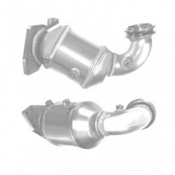 Catalyseur pour FIAT TEMPRA 1.6 ie 3 boulons coté tuyau avant
