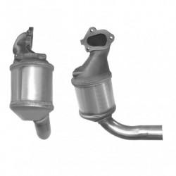 Catalyseur pour FORD TOURNEO 2.0 catalyseur et tuyau avant seulement