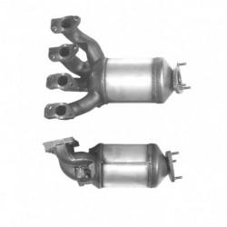 Catalyseur pour JAGUAR XJ8 4.0 V8 coté gauche (bride coté arrière)