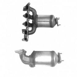 Catalyseur pour MERCEDES C180K 1.8 W203 Kompressor (catalyseur situé sous le véhicule)