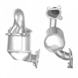 Catalyseur pour MERCEDES CLK200K 1.8 C209 Kompressor (catalyseur situé sous le véhicule)