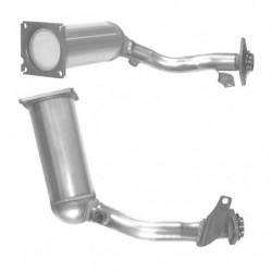 Catalyseur pour MG ZR 1.4 105 16v (catalyseur situé sous le véhicule - jusqu'au n° de chassis 2D610560)