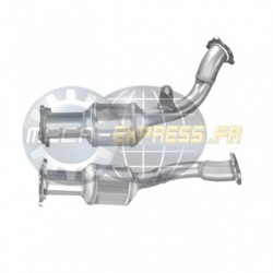 Catalyseur pour IVECO DAILY 2.3 TD 29L14 Turbo Diesel (ALCOM System)