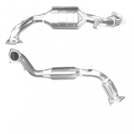 Catalyseur pour IVECO DAILY 2.3 TD 35C12 Turbo Diesel (ALCOM System)
