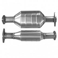 Catalyseur pour PEUGEOT 206 1.1 catalyseur situé sous le véhicule