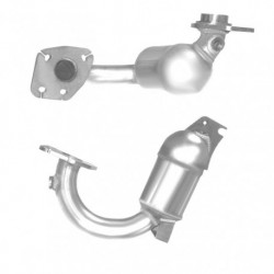 Catalyseur pour PEUGEOT 206 1.4 catalyseur situé sous le véhicule (OBD - sans OBD)