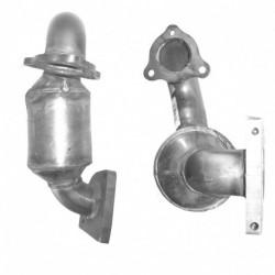 Catalyseur pour PEUGEOT 206CC 1.6 16v (catalyseur situé coté moteur)