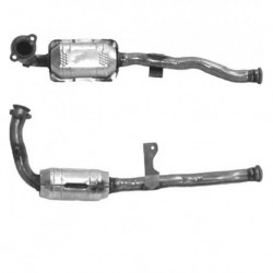 Catalyseur pour RENAULT ESPACE 2.0 16v Turbo (F4R - catalyseur situé coté moteur)