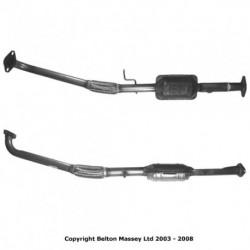 Catalyseur pour ROVER 820 2.0 Mk.2 Turbo Vitesse (178cv jusqu'au n° de chassis 230966)
