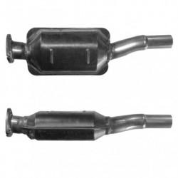Catalyseur pour SUBARU IMPREZA 2.0 Mk.2 WRX 16v Turbo (2ème catalyseur)
