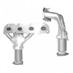 Catalyseur pour SUBARU LEGACY 2.2 Mk.1 (2ème catalyseur)