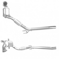 Catalyseur pour VOLKSWAGEN CADDY 1.6 AEE (double tuyau avant et catalyseur)