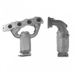 Catalyseur pour VOLKSWAGEN POLO 1.4 16v (BKY - catalyseur situé sous le véhicule)