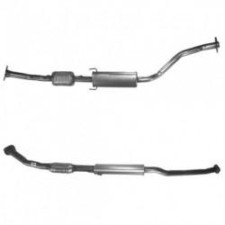 Catalyseur pour VOLVO 850 2.5 10v berline (jusqu'au n° de chassis 2246448)