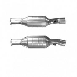 Catalyseur pour VOLVO S40 1.8 Catalyseur et tuyau avant en un