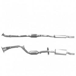 Catalyseur pour MERCEDES E220 2.2 TD (W210) CDi Turbo Diesel (2ème catalyseur)