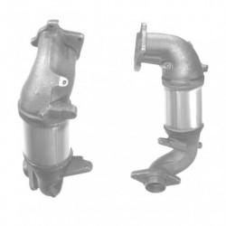 Catalyseur pour VOLVO V40 1.6 Catalyseur et tuyau avant en un