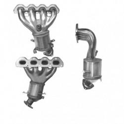 Catalyseur pour PEUGEOT 206SW 1.6 HDi HDi (DV6TED4 - pour véhicules sans FAP)