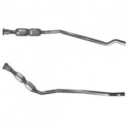 Catalyseur pour RENAULT CLIO 1.9 Dti dTi Turbo Diesel (tuyau avant et catalyseur)
