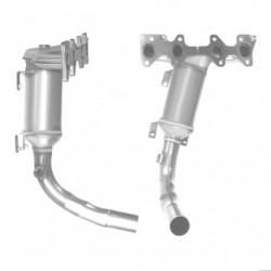 Catalyseur pour RENAULT KANGOO 1.9 Dti dTi (F9Q - 1er catalyseur)