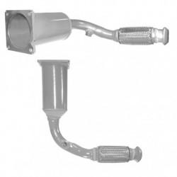 Catalyseur pour RENAULT LAGUNA 1.9 TD Mk.1 DCi Turbo Diesel (catalyseur situé sous le véhicule)