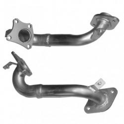Catalyseur pour Peugeot 206 1.4 HDi HDi 8V Hayon Mot: 8HX(DV4TD) BHP 68 NON-OBD