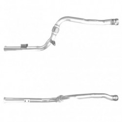 Catalyseur pour Peugeot 406 2.0 HDi HDi 8V Break Mot: RHZ(DW10ATED) BHP 110 NON-OBD