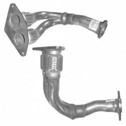 Tuyau d'échappement pour RENAULT MEGANE 2.0 Mk.1 16v (moteur : FZR)