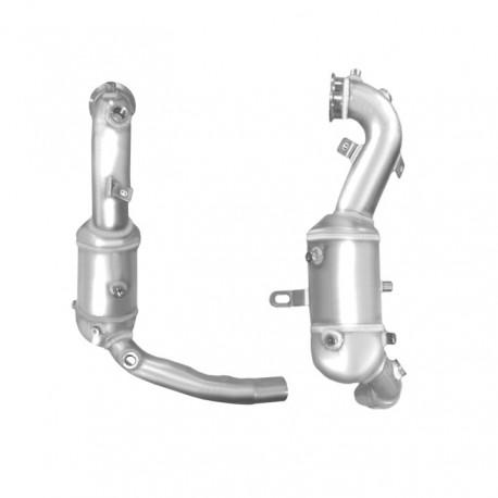 Catalyseur pour BMW 330d 2.9 TD E46 Turbo Diesel (M57 - 1er catalyseur)
