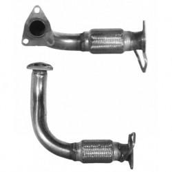 Tuyau d'échappement pour ROVER 620 2.0 Turbo Diesel Boite manuelle (moteur : 20T2N)