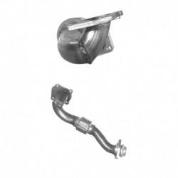 Tuyau d'échappement pour SEAT CORDOBA 1.9 TDi Coupe (moteur : AHU)