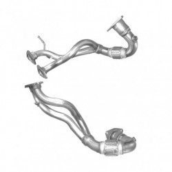 Tuyau d'échappement pour SEAT LEON 1.8 Cupra-R Turbo (moteur : AMK - BAM)